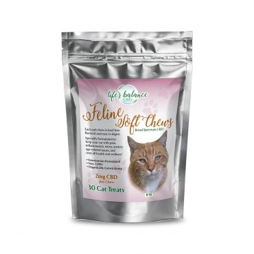Feline CBD, Soft Chew Cat Treats package