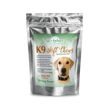 Canine CBD, Soft Chew Dog Treats package