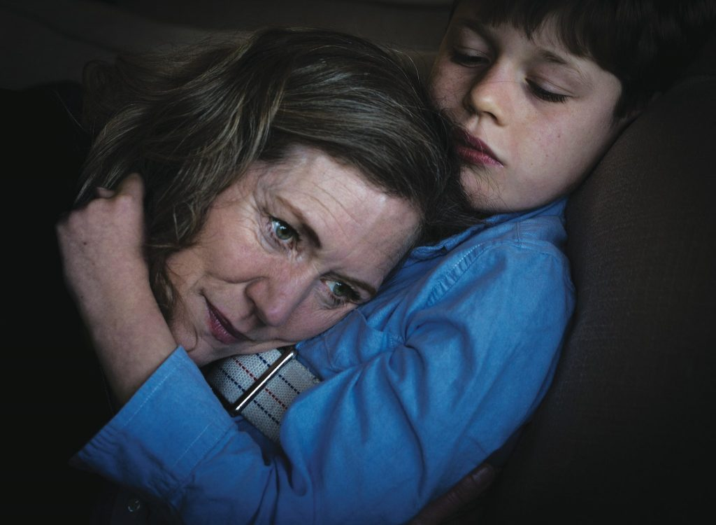 Catherine Jacobson and her son, Ben, at home in Mill Valley, Calif.